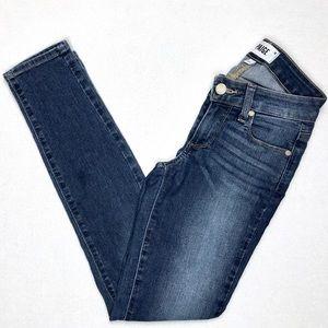 Paige Blue Verdugo Skinny Jeans Kelsey Stretch